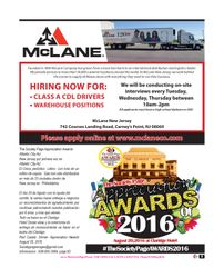 Mclane  / The Society Page Appreciation Awards