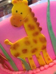 Giraffe Sugar Art