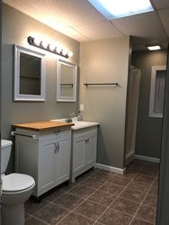 Big Bathroom with Shower Only