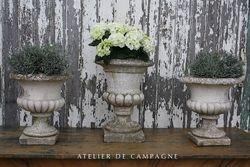 #23/009 Concrete Garden Urns