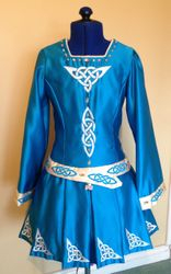 Irish Dance Costume Front