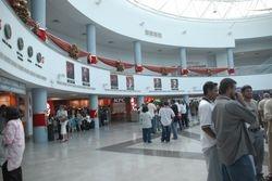 TRINBAGO AIRPORT INSIDE