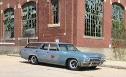 19. 65 Chevrolet Biscayne station wagon