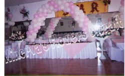 arco doble rosa