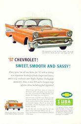 Print Ad for '57 Chevy