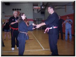 Julie Gabbard Sho Dan 2005