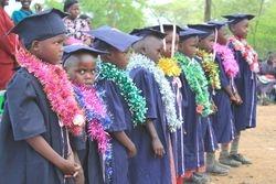 Graduands at Kabor School