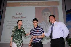 SINGHEALTH INSPIRATIONAL PATIENT AWARD 2011 WINNER