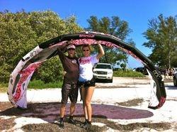 Gabriella - Kiss The Sky Kiteboarding kitesurfing