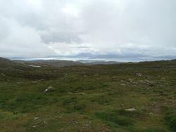view from Applecross Pass