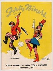 1946 San Francisco 49ers vs. New York Yankees
