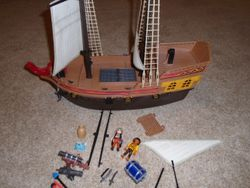 Playmobil Pirate Ship 5135 Retired and Controversial - $65
