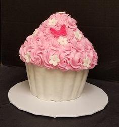 Giant Rosette Cupcake