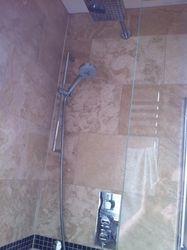 'Hudson Reed' triple shower valve.