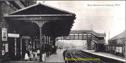 West Bromwich Station. 1910.