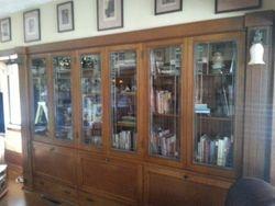 Left side of library finished - November 2014