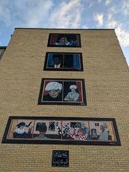 famous artist mural