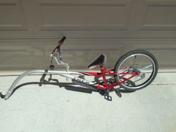 "Trek Tag Along 6-Speed 20"" Bike Trailer (Mountain Train) - $200"
