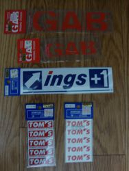 GAB & Ings & TOM'S Stickers