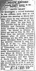 Riley, David - Part 1 - 1948