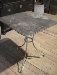 #14/099 Square Metal Garden Table SOLD