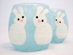 Pale Blue Bunnies