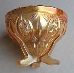 Hobstar Reversed rose bowl c1930's?, Matthew Turnbull Ltd Sunderland
