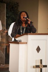 Co-Pastor Parthia Hill Singing at Convocation
