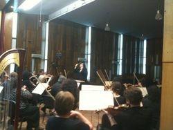 VC conducting in Pleven, Bulgaria