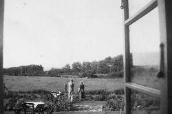 Flickorna Lundgren i Skaret 1946