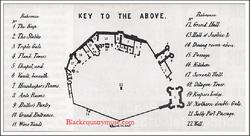Dudley Castle Plan. 1856