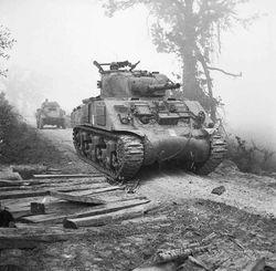 The Sherman in Battle: