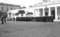 40 Cdo Palace Guard Valetta 1962