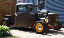 38. 35 Ford ratrod pickup