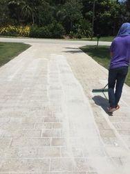 Re-Sanding driveway