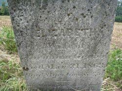 Elizabeth Grubb, died 1863