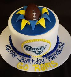 Los Angeles Rams Cake