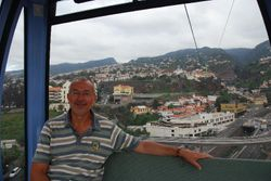 The cable car in Funchal