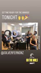 Silverferns hair and makeup