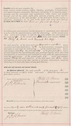 Property Deed from Philip A. Norris to Jackson Fisher - Page 4