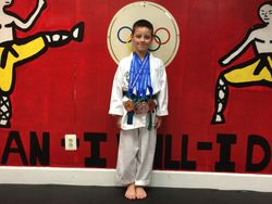 04/26/2015 Presidential Cup TKD Championship  Garry Woods 2nd Place Forms 2nd Place Breaking 2nd Place Weapons 3rd Place Sparring