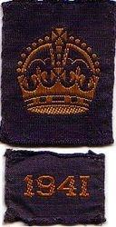 WW2 War Service Badge (1941)