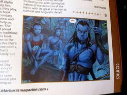 Image in My Review of Avatar: Tsu'tey?s Path in Starburst Magazine #469: Birds of Prey Collectors? Edition