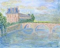 'L Seine - 16x20