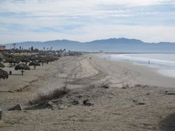 Ensenada beach