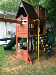 hilltop swing set assembly service in potomac Maryland