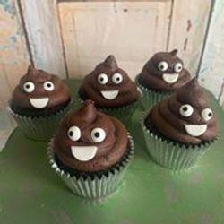 Covid Crap Cupcakes