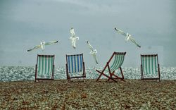 Beach Chairs - Blue