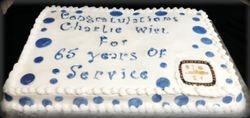 City Of Memphis Retirement Cake