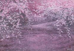 Cherry Blossom on the Water. 1